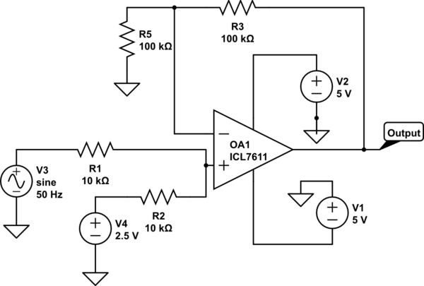 non inverting amplifier circuit