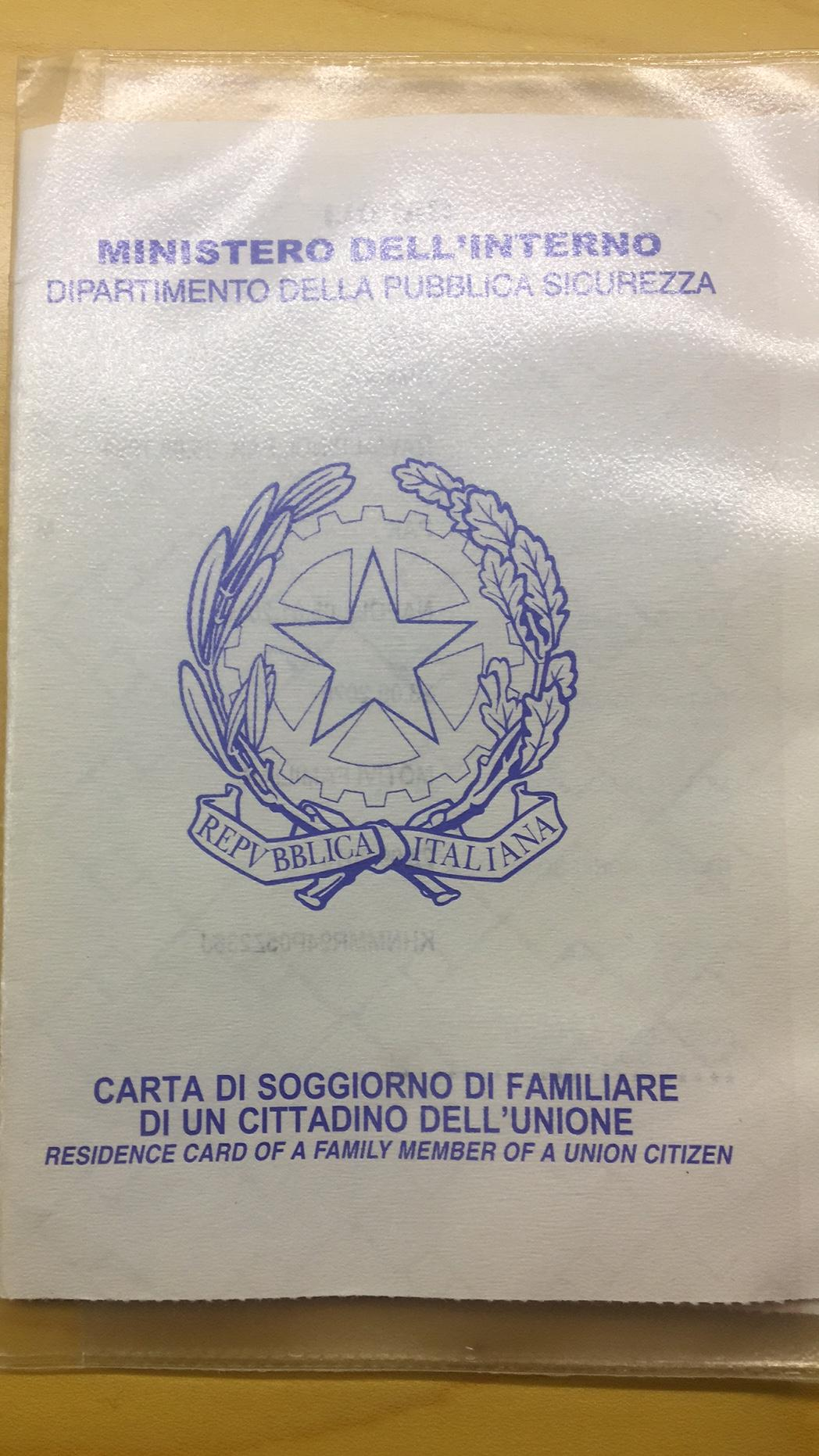 Soggiorno Carta Schengen Rights If We Possess Carta Di Soggiorno Travel Stack