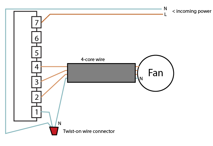 re advice on wiring electric fans
