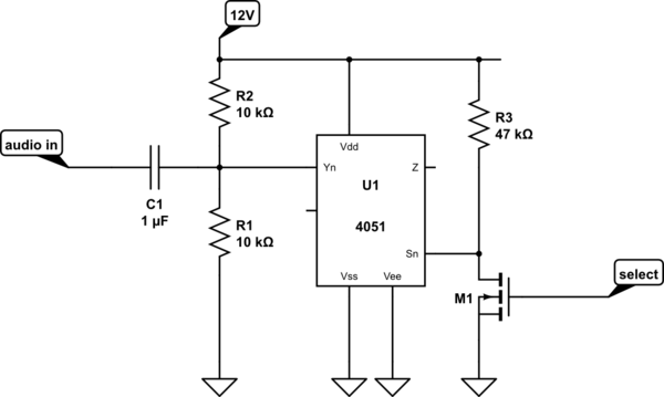 circuitlab level shifter 12v gt 33v