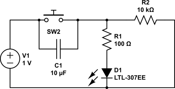 simple push on push off controlcircuit