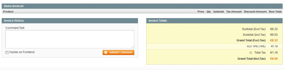 Magento Sales Order Invoice view and Print Invoice - Magento Forums - product invoice