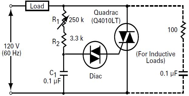 triac circuit example