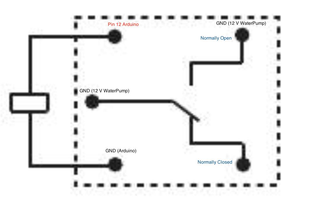relay circuit description
