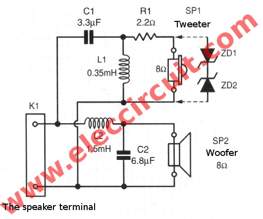 amplifier - Speaker protection using only zener diodes? - Electrical