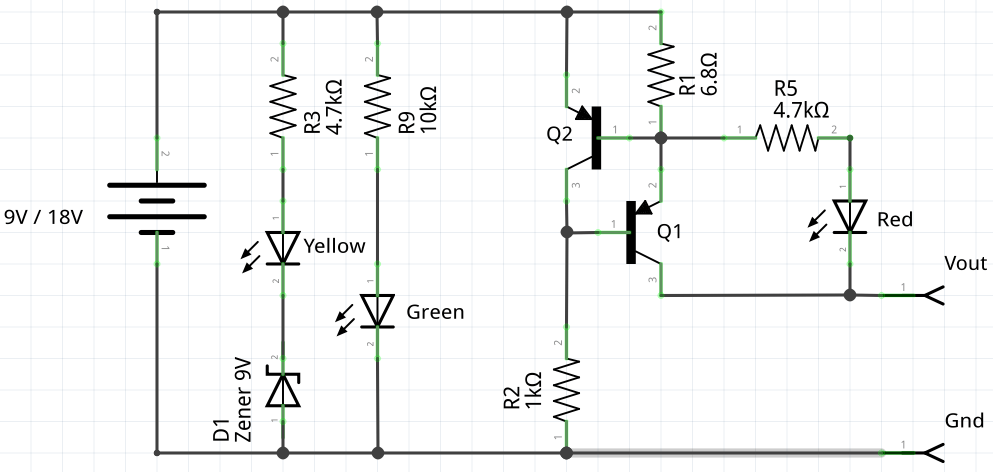 battery and electrical short circuit detector