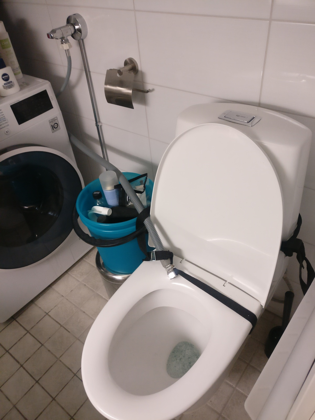 Connect Wc Toilet How To Connect Washing Machine Output Water To Wc Seat