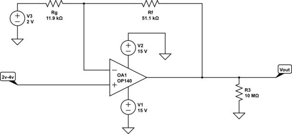 the opamp voltagetocurrent converter after circuits having voltage