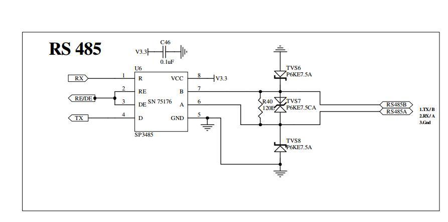 Rs485 Circuit Diagram - Wiring Diagrams