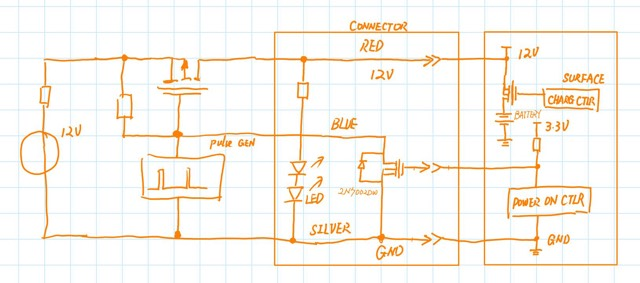 led - MS Surface power supply - Electrical Engineering Stack Exchange