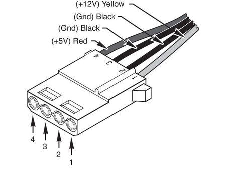 molex connector wiring diagram