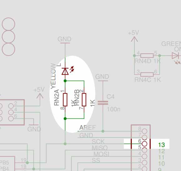 arduino - Pin 13 Do I need a Resistor? - Electrical Engineering
