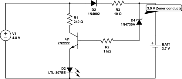 transistor regulator circuit electrical engineering stack exchange