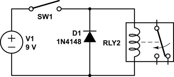 surge suppression circuit diagram