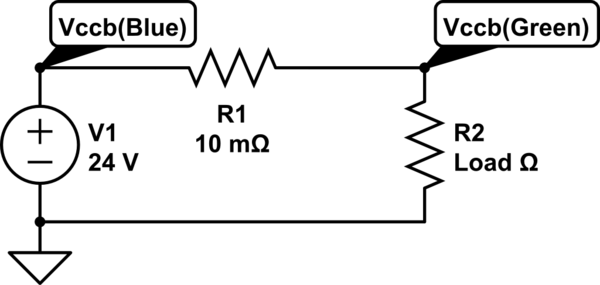 how to analyse the current sense circuit