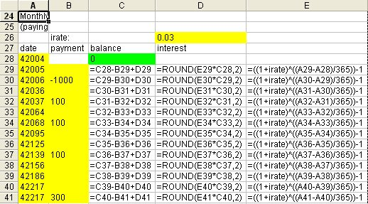 worksheet function - How would I track loan payments in Excel