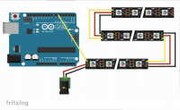 How to control 19 RGB LED strips with one arduino ...