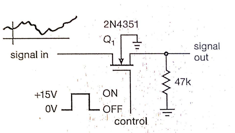 fet analog switch circuit diagram tradeoficcom