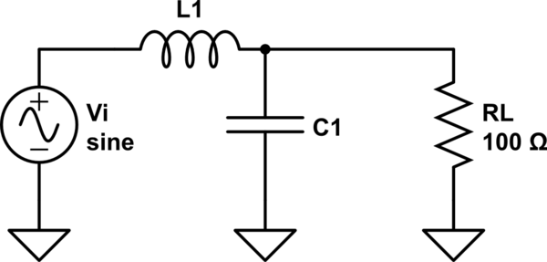 circuitlab rlc high pass filter