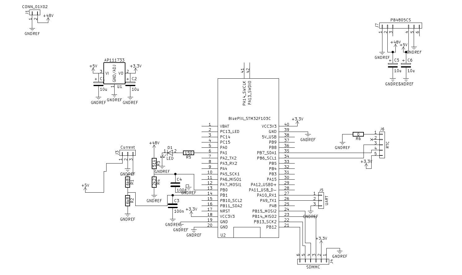 sd card module wiring