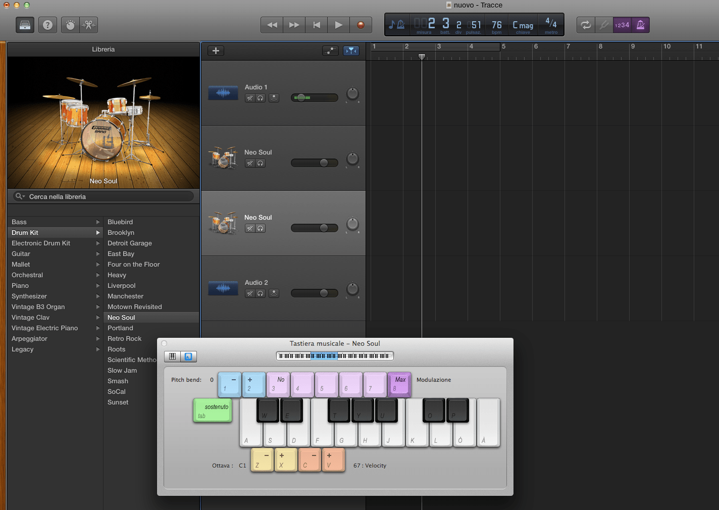 Garageband Jazz Drummer Garage Band How To Have A Drummer Play Only A Steady Snare Drum