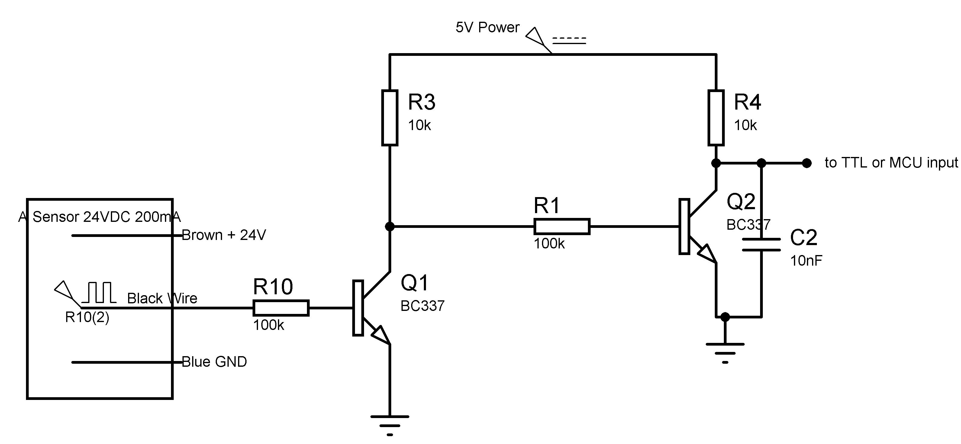 inductive sensor circuit