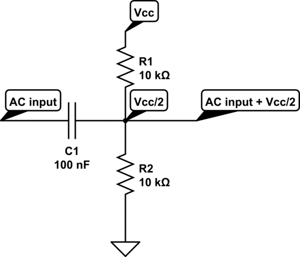 voltage divider circuit example