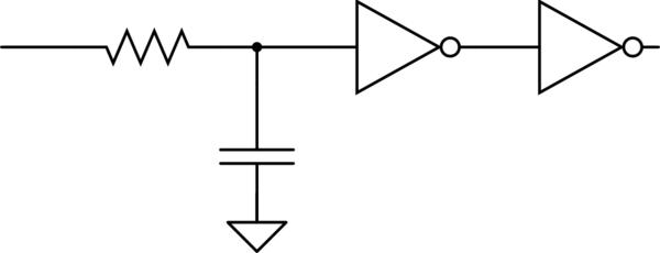 retriggerable one shot circuit schematic