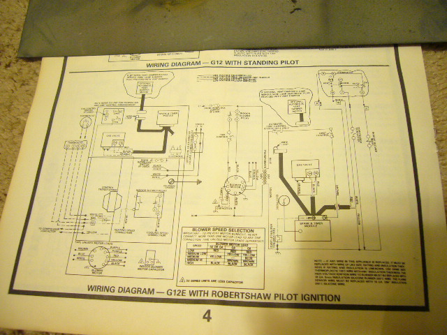 Lennox G12D2E-55C-6 with a Johnson Control G779LHA-1 ignition