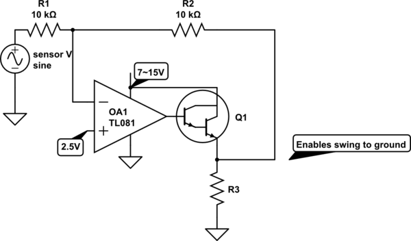 circuitlab inverter bjt circuit