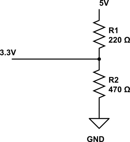 5v to 33v level converter openrcforums