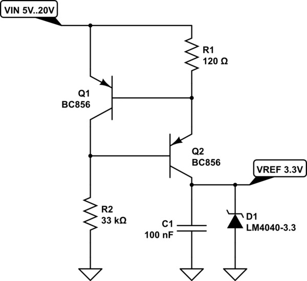 voltage controlled voltage source with nchan mosfet schematic