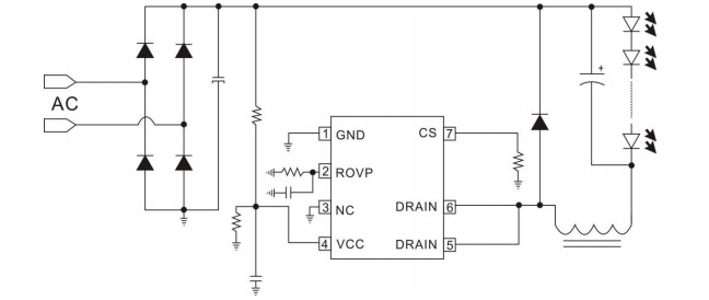 Constant Current Led Driver (non dimmable) to work with PWM