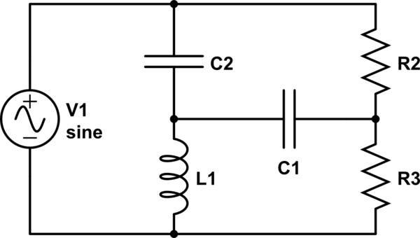 lc resonant circuit transfer function
