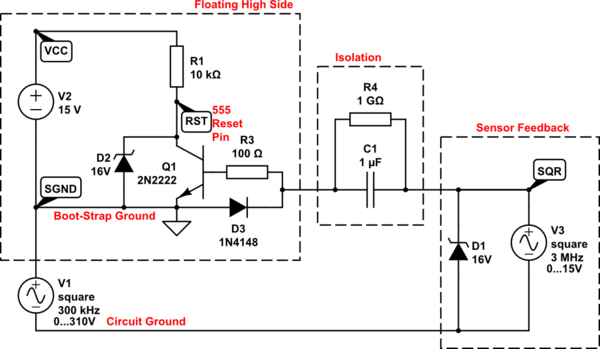example optocoupler circuit