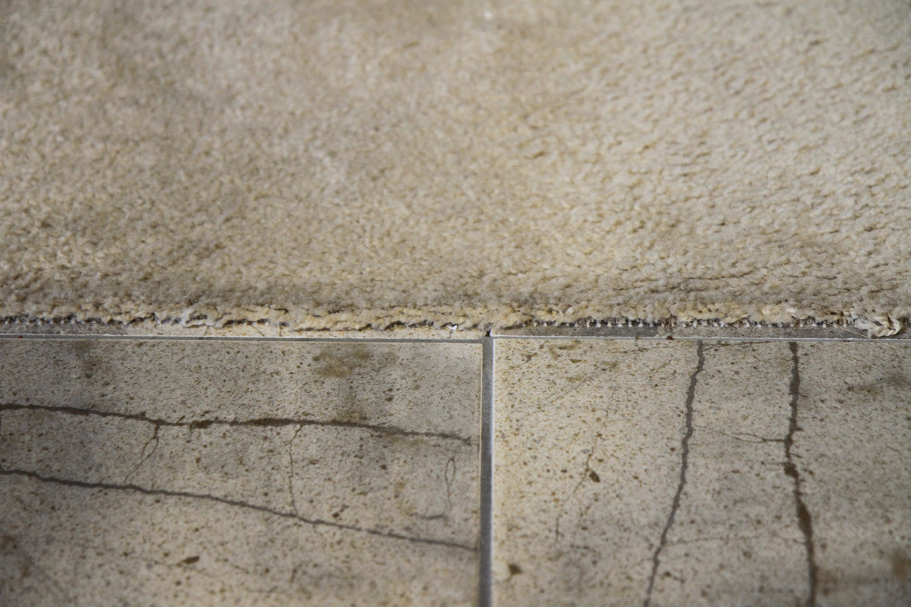 Flooring How Do I Make Where My Carpet Meets Tile Look