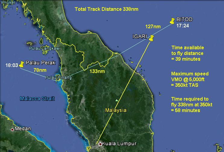 Aviation Aircraft Air Traffic Control - How Could Mh370 Fly West To Straits