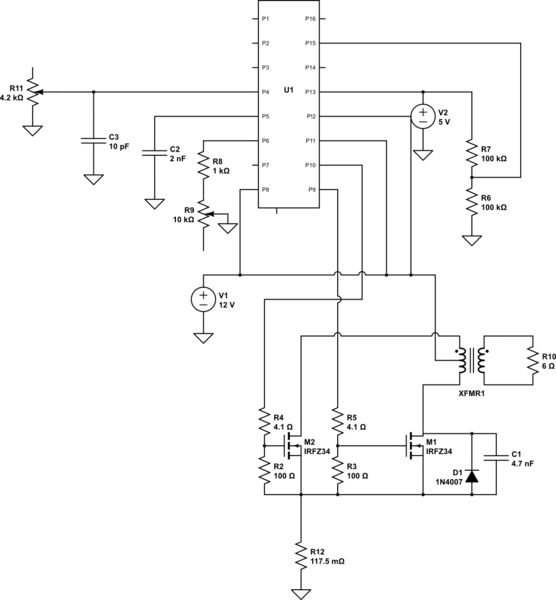 10000 Inverter Wiring Diagram Switch Mode Power Supply Is Noise In A Tl494 Based Push