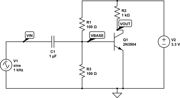 meaning of biasing in electrical electronics circuits electrical