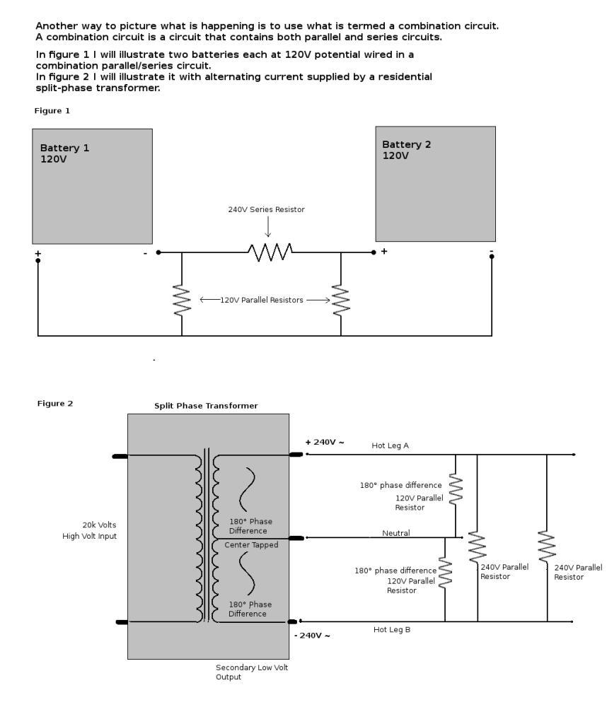 circuit transfromer phase splitting