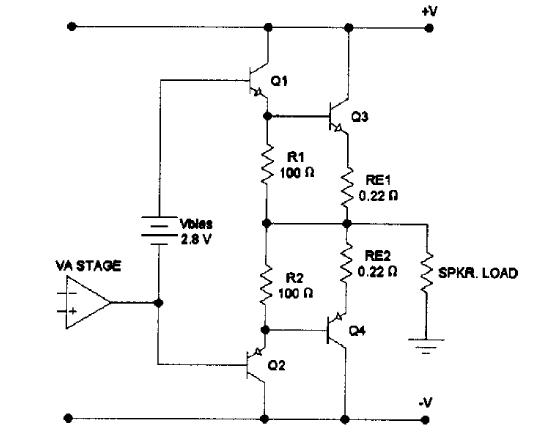 transistor amplifier bias