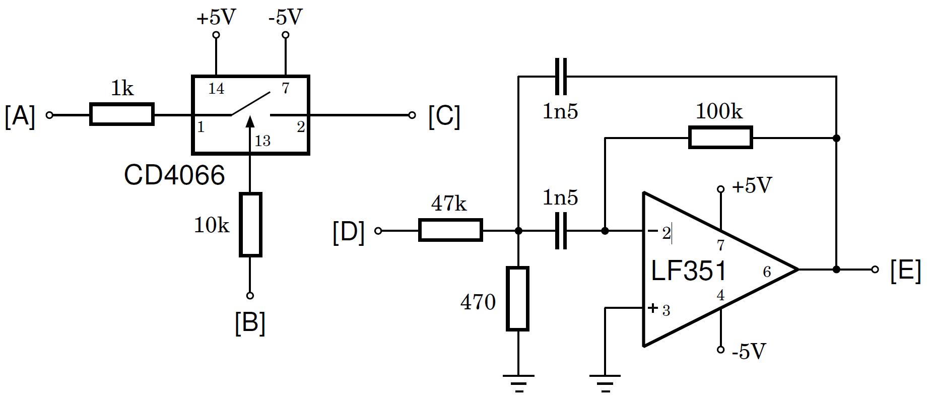 fm modulator circuit schematic