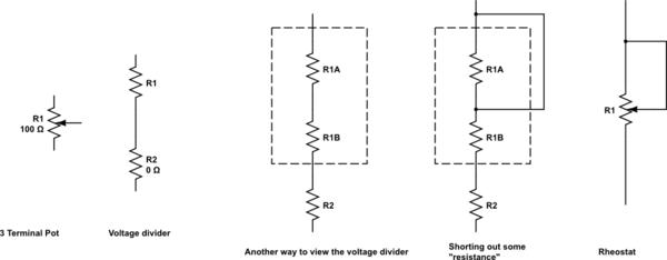 voltage divider schematic
