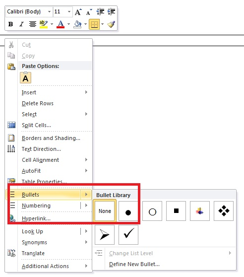 microsoft word - Is there a keyboard shortcut to indent a nested
