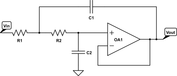 section iv lowpass rc circuit