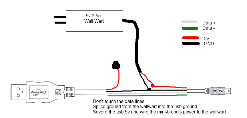 wiring schematic for usb to vga adapter