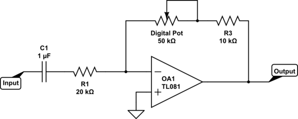 simple potentiometer circuit a simple potentiometer circuit