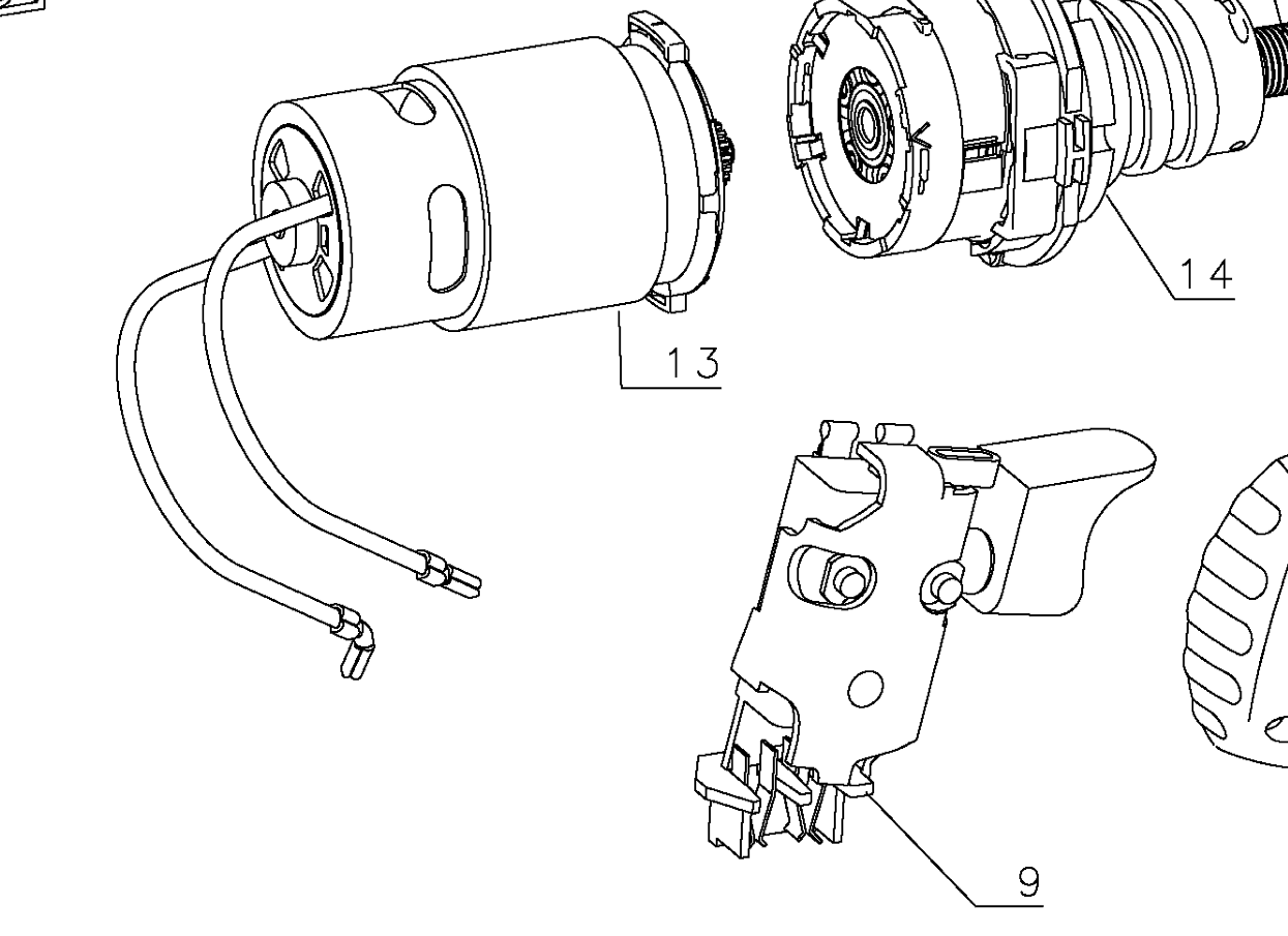 wiring diagram heat gun 1220