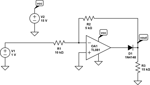 inverting amplifier opamp circuits