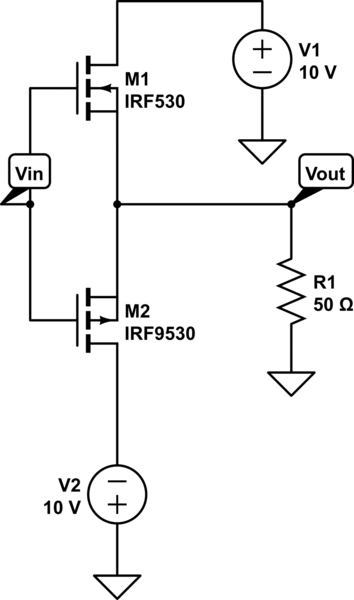 push pull amplifier